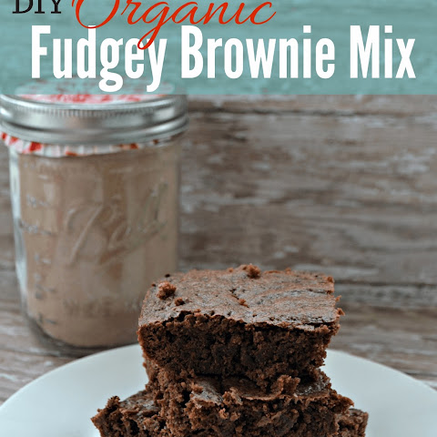 The BEST Organic Brownie Mix
