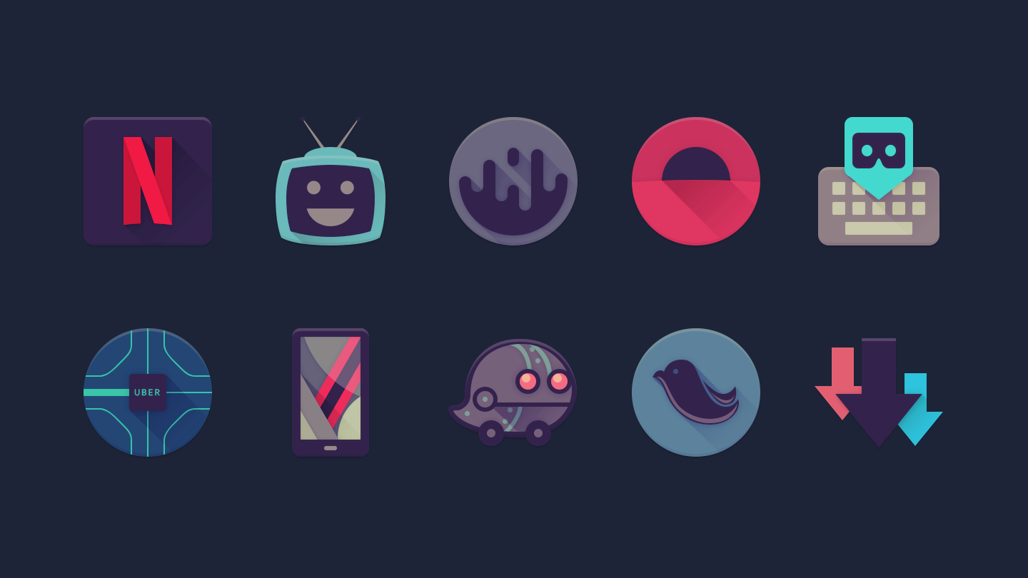 Viral - Free Icon Pack Screenshot 0