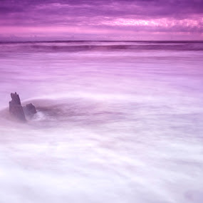sea shore by Cristobal Garciaferro Rubio - Digital Art Places ( water, shore, sea, long exposure )