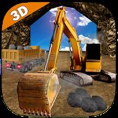 Game Mine Excavator Crane 3D version 2015 APK