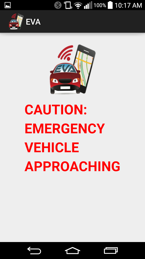Emergency Vehicle Alert App Screenshot 2