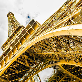 Eiffel Tower by Nitescu Gabriel - Buildings & Architecture Statues & Monuments ( paris, eiffel tower, tower, european, europe, still life, still, monument )