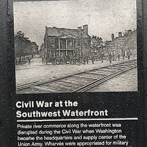 Private river commerce along the waterfront was disrupted during the Civil War when Washington became the headquarters and supply center of the Union Army. Wharves were appropriated for military ...