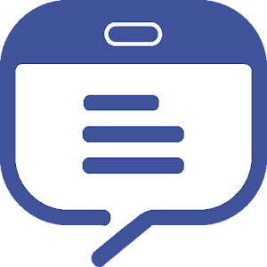 Tablet Messenger Icon
