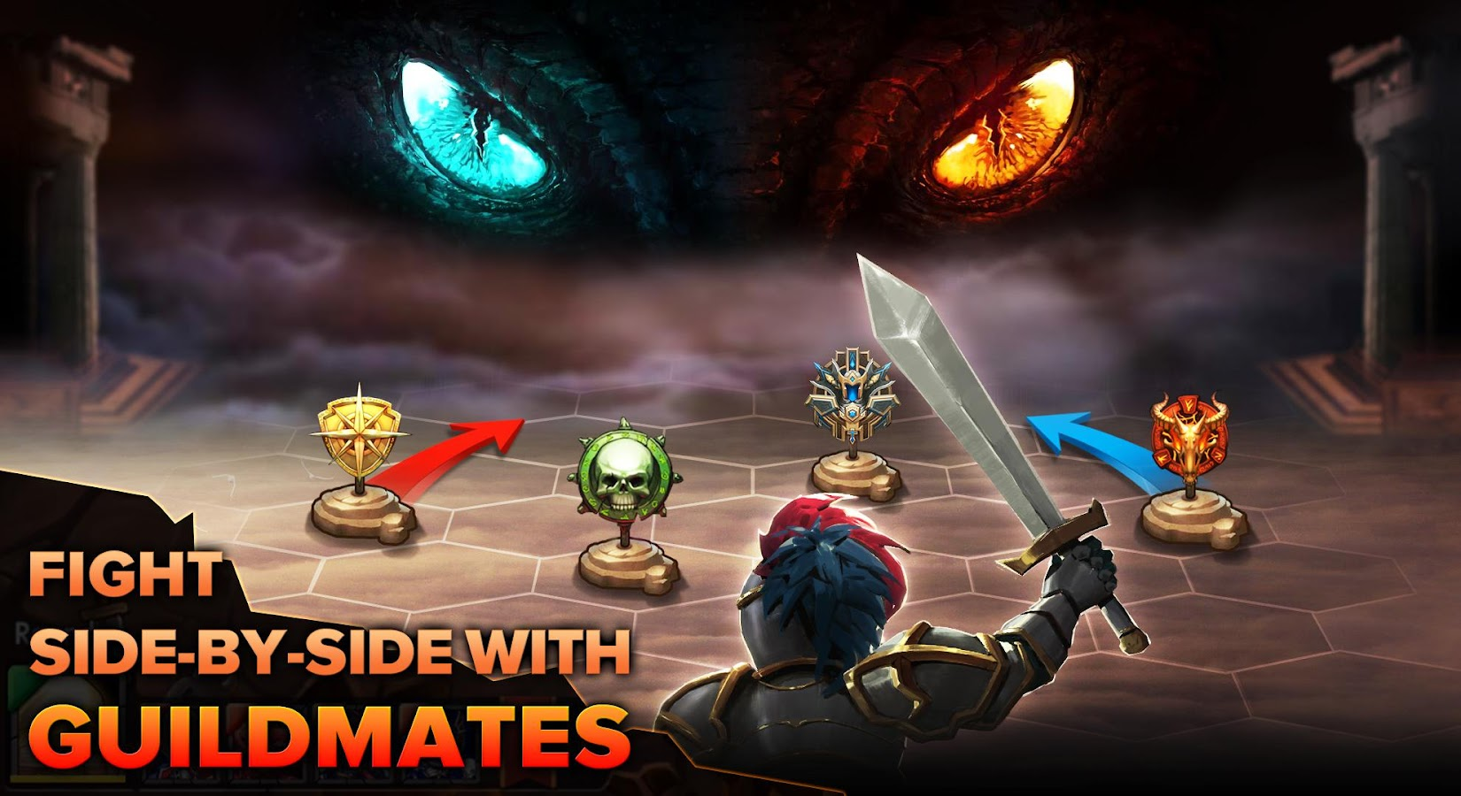 Heroes Tactics: Strategy PvP Screenshot 8