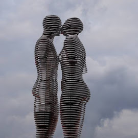 Ali and Nino by German Yemets - Buildings & Architecture Statues & Monuments ( ali and nino )
