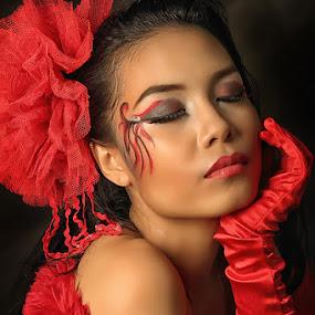 by Fandy Pangandaheng - People Portraits of Women