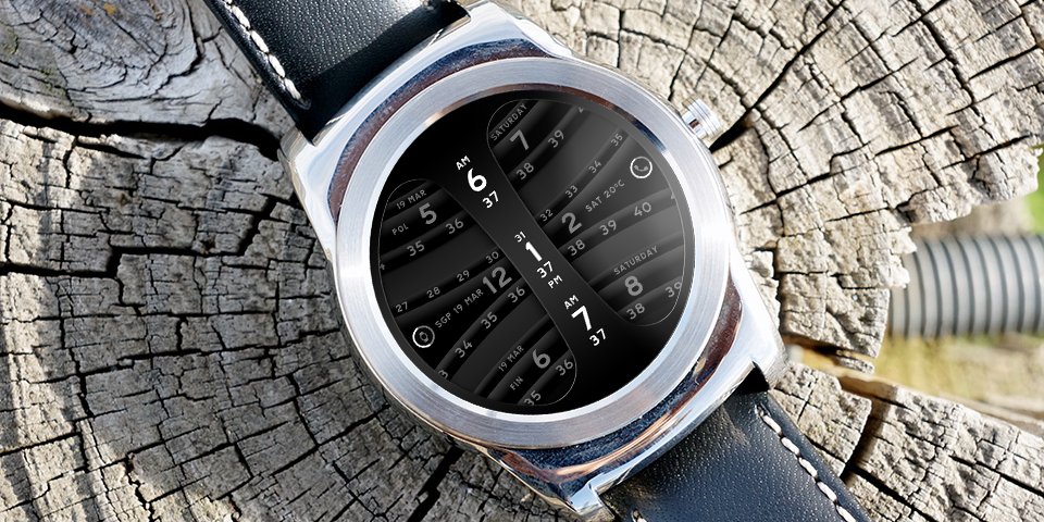 Global Timer Watch Face Screenshot 5