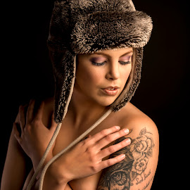 by Peter Driessel - People Portraits of Women