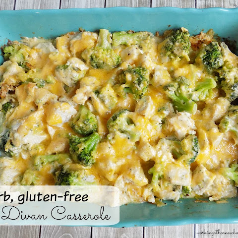 Low-Carb Chicken Divan Casserole