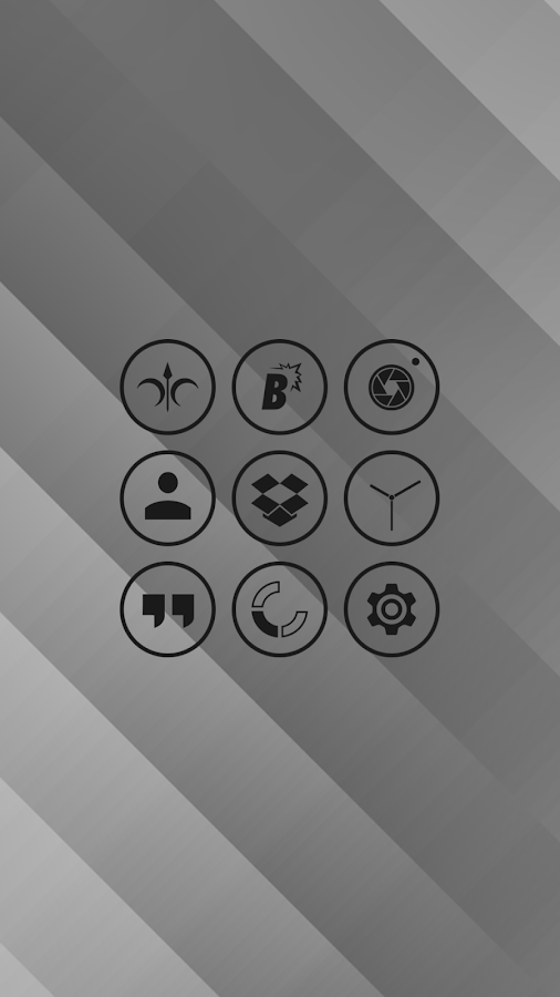 Nimbbi - Icon Pack Screenshot 2