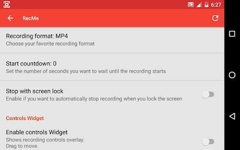 RecMe Free Screen Recorder Screenshot