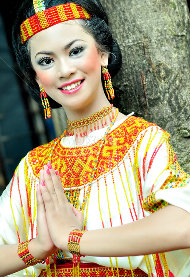 Smile of my culture by Arham Ardin - People Portraits of Women