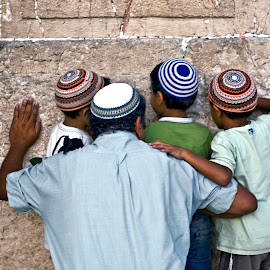 Father by Stanley P. - People Family ( western_wall, family )