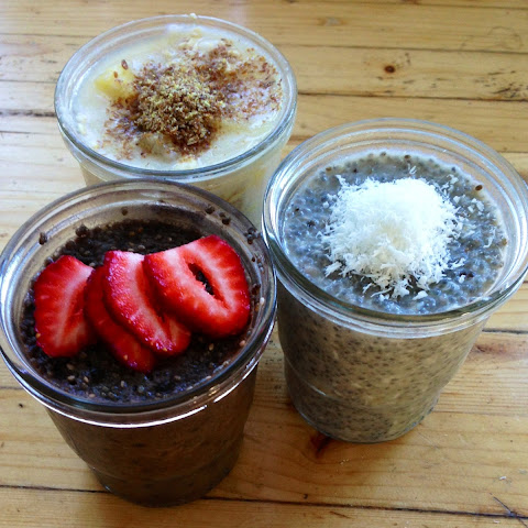 Quick Meals ~breakfast Chia Pods And Overnight Oats~