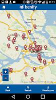 Screenshot of Benify Sweden