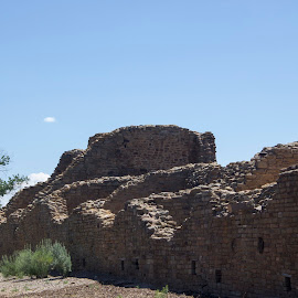 Aztec Ruins by Gene Curl - Buildings & Architecture Statues & Monuments ( history, national park, southwest, ruins, native american,  )