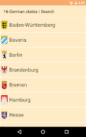 Screenshot of Federal states of Germany HD