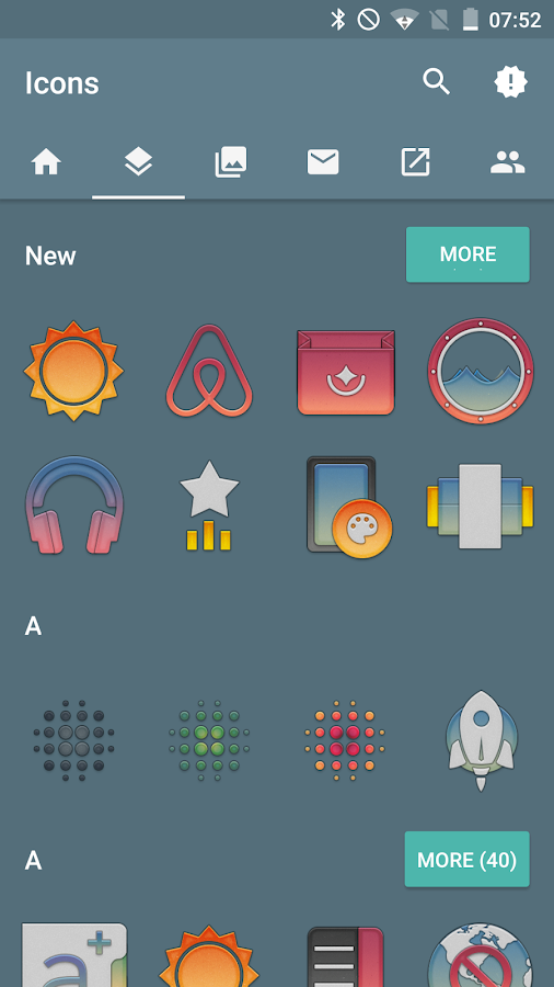 Redux Beta - Icon Pack Screenshot 1