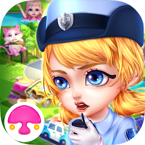 Town Policewoman-Dressup&Care