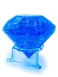 3D Crystal Puzzle Кристал L голубой