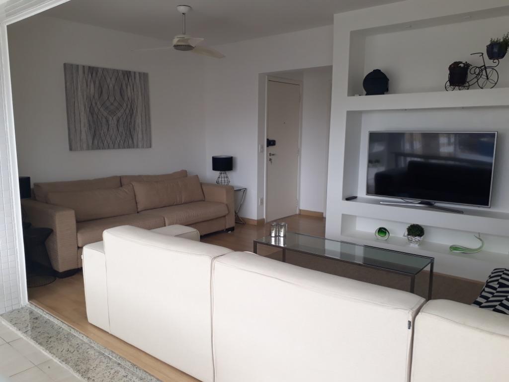 Santos / Ponta da Praia - Lindo Apartamento 111m²  03 Dorms (1 Suíte)  02 Vagas na Rua República do Equador para Venda.