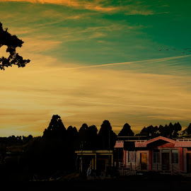 sunset by Freddie Duhlian - Landscapes Sunsets & Sunrises (  )