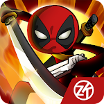 Stick vs zombie - Stickman warriors - Epic fight Icon