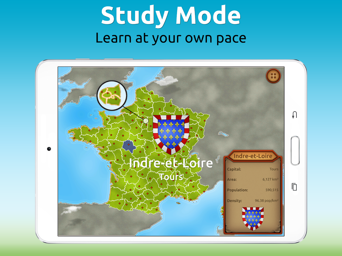 GeoExpert - France Geography Screenshot 7