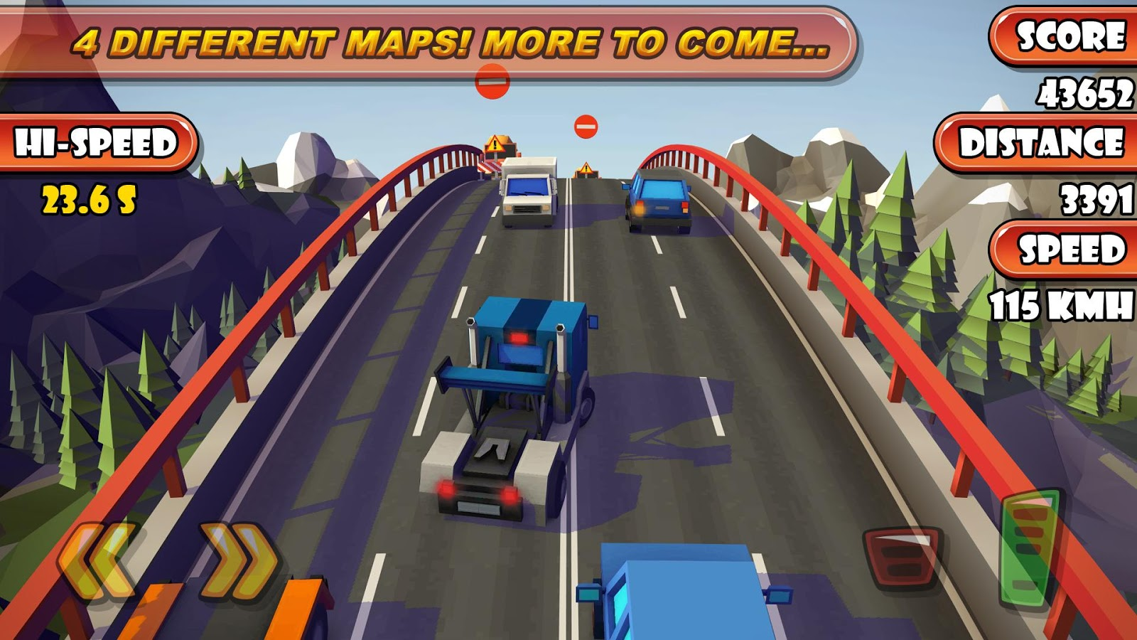 Highway Traffic Racer Planet Screenshot 2