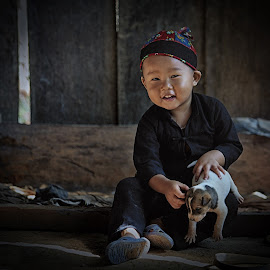 A Lovely child by Vu Dung - Babies & Children Child Portraits ( #mountainous, #lovely, #child, #ethic minority )