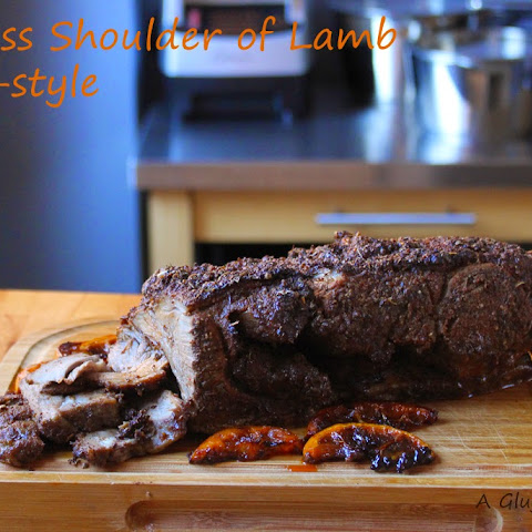 Greek-style Shoulder of Lamb - Oven or BBQ