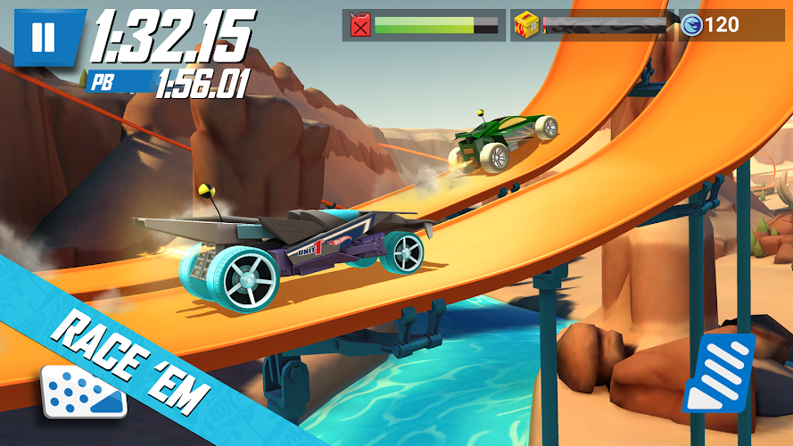 Hot Wheels: Race Off Android App Screenshot