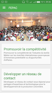 FEPAC Mali - screenshot
