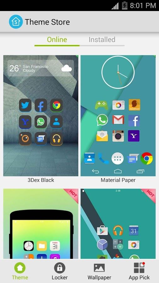 S Launcher (Galaxy S7 Launcher Screenshot 4