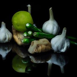 ingredients by Shajin Nambiar - Food & Drink Fruits & Vegetables