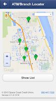 Screenshot of Space Coast CU Mobile
