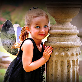 Sassy Couture Shootout Dark Beauty Memphis,TN by Billy Morris - Babies & Children Child Portraits ( cemetery, darkside, children, photoshoot, portrait )