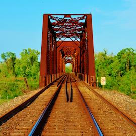 by Jim Suter - Transportation Railway Tracks