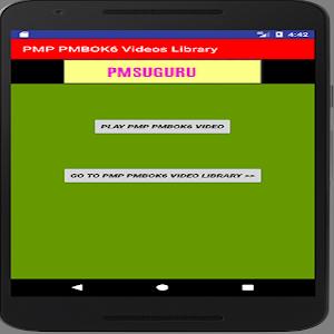 PMP PMBOK6 VIDEOS PMSUGURU For PC (Windows / Mac)