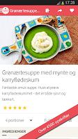 Screenshot of Karolines Køkken® - Opskrifter