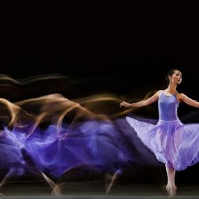 Beauty Ballerina by Pimpin Nagawan - People Portraits of Women ( fine art )