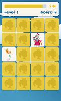 Screenshot of Princess memory game for kids
