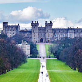 Windsor Castle by Jon Raffoul - Buildings & Architecture Public & Historical ( castle windsor castle royal family the royals )
