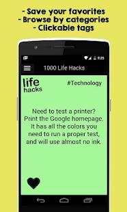 1000 Life Hacks APK for Blackberry