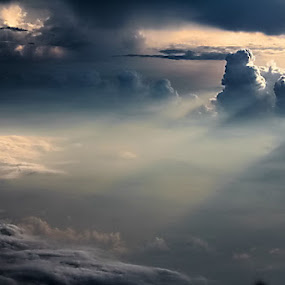 between the clouds  by Andre Pratjojo - Landscapes Cloud Formations
