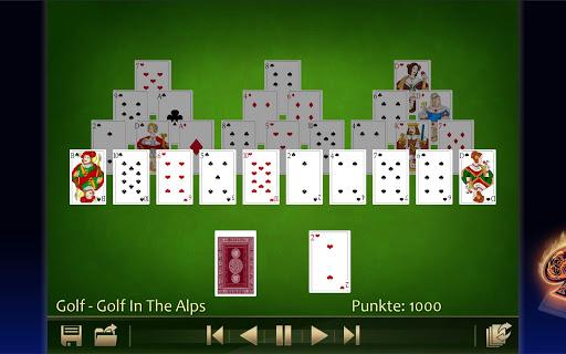 Solitaire 220plus (english) - screenshot