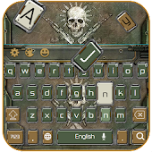 App Skull Theme Gun Fire Keyboard APK for Kindle