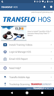 Transflo HOS Business app for Android Preview 1