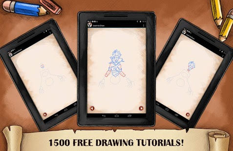Learn To Draw DotA - screenshot